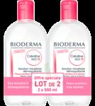 Acheter CREALINE TS H2O Solution micellaire sans parfum nettoyante apaisante 2Fl/500ml à Andernos