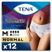 Tena Lady Silhouette Slip Absorbant Blanc Normal Médium Paquet/12 à Andernos