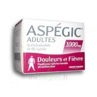 Aspegic Adultes 1000 Mg, Poudre Pour Solution Buvable En Sachet-dose 20 à Andernos