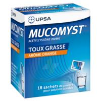 Mucomyst 200 Mg Poudre Pour Solution Buvable En Sachet B/18 à Andernos