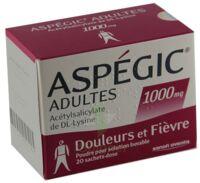 Aspegic Adultes 1000 Mg, Poudre Pour Solution Buvable En Sachet-dose 15 à Andernos