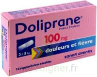 Doliprane 100 Mg Suppositoires Sécables 2plq/5 (10) à Andernos