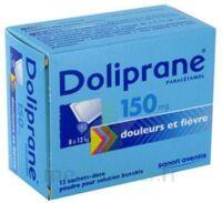 Doliprane 150 Mg Poudre Pour Solution Buvable En Sachet-dose B/12 à Andernos