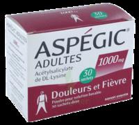 Aspegic Adultes 1000 Mg, Poudre Pour Solution Buvable En Sachet-dose 30 à Andernos