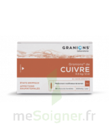 Granions De Cuivre 0,3 Mg/2 Ml S Buv 30amp/2ml à Andernos