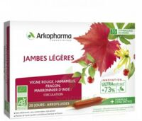 Arkofluide Bio Ultraextract Solution Buvable Jambes Légères 20 Ampoules/10ml à Andernos