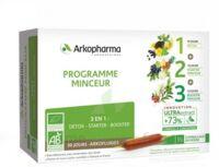 Arkofluide Bio Ultraextract Coffret Programme Minceur 3x10 Ampoules/10ml à Andernos