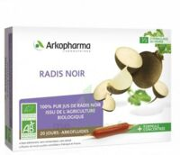 Arkofluide Bio Ultraextract Radis Noir Solution Buvable 20 Ampoules/10ml à Andernos