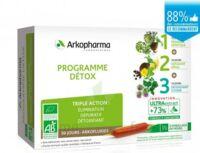 Arkofluide Bio Ultraextract Coffret Programme Détox 3x10 Ampoules/10ml à Andernos