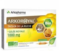 Arkoroyal Gelée Royale Bio 1000 Mg Solution Buvable 20 Ampoules/10ml à Andernos