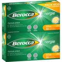 Berocca Energie Comprimés Effervescents Orange B/60 à Andernos
