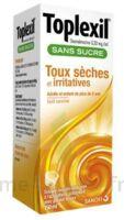 Toplexil 0,33 Mg/ml Sans Sucre Solution Buvable 150ml à Andernos