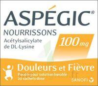 Aspegic Nourrissons 100 Mg, Poudre Pour Solution Buvable En Sachet-dose à Andernos