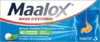Maalox Hydroxyde D'aluminium/hydroxyde De Magnesium 400 Mg/400 Mg Cpr à Croquer Maux D'estomac Plq/40 à Andernos