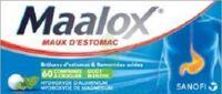 Maalox Hydroxyde D'aluminium/hydroxyde De Magnesium 400 Mg/400 Mg Cpr à Croquer Maux D'estomac Plq/60 à Andernos