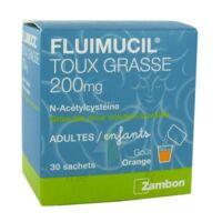 Fluimucil Expectorant Acetylcysteine 200 Mg Sans Sucre, Granulés Pour Solution Buvable En Sachet édulcorés à L'aspartam Et Au Sorbitol à Andernos