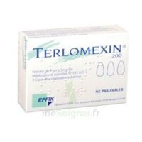 Terlomexin 200 Mg, Capsule Molle Vaginale à Andernos