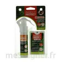 Insect Protect Spray Peau + Spray VÊtements Fl/18ml+fl/50ml à Andernos