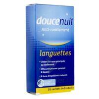 Doucenuit Antironflement Languettes, Sachet 28 à Andernos