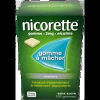 Nicorette 2 Mg Gom à Mâcher Médic Sans Sucre Menthe Fraîche Plq/105gom à Andernos