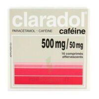 Claradol Cafeine 500 Mg/50 Mg, Comprimé Effervescent à Andernos