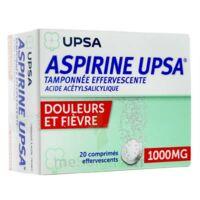 Aspirine Upsa Tamponnee Effervescente 1000 Mg, Comprimé Effervescent à Andernos