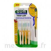 Gum Trav - Ler, 1,3 Mm, Manche Jaune , Blister 4 à Andernos