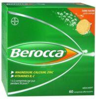 Berocca Comprimés Effervescents Sans Sucre T/60 à Andernos
