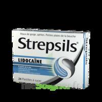 Strepsils Lidocaïne Pastilles Plq/24 à Andernos
