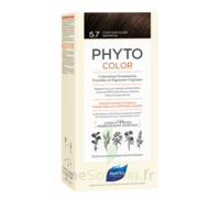 Phytocolor Kit Coloration Permanente 5.7 Châtain Clair Marron à Andernos