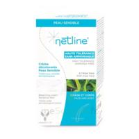 Netline Crème Visage/corps Décolorante Peau Sensible 30+30ml à Andernos