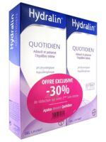 Hydralin Quotidien Gel Lavant Usage Intime 2*200ml à Andernos