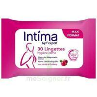 Intima Gyn'expert Lingettes Cranberry Paquet/30 à Andernos