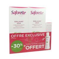 Saforelle Solution Soin Lavant Doux 2*500ml+100ml à Andernos