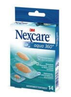 Nexcare Aqua 360° Pansements 3 Tailles B/14 à Andernos