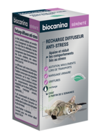 Biocanina Recharge Pour Diffuseur Anti-stress Chat 45ml à Andernos