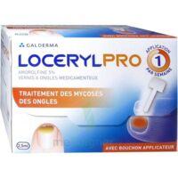 Locerylpro 5 % V Ongles Médicamenteux Fl/2,5ml+spatule+30 Limes+lingettes à Andernos