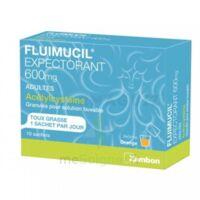 Fluimucil Expectorant Acetylcysteine 600 Mg Glé S Buv Adultes 10sach à Andernos