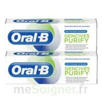 Oral B Gencives Purify Dentifrice 2*t/75ml à Andernos