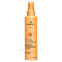 Spray Solaire Visage Et Corps Haute Protection Spf 50 Nuxe Sun150ml à Andernos