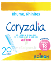 Boiron Coryzalia Solution Buvable Unidose B/20 à Andernos