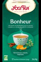 Yogi Tea Tisane Ayurvédique Bonheur Bio 17 Sachets/1,8g à Andernos