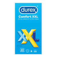 Durex Comfort Xxl Préservatif Lubrifié B/10 à Andernos